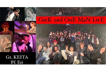 GieK -ジーク- 2nd ONEMAN LIVE